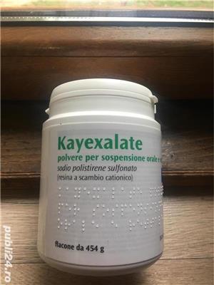 Kayexalate pulbere 150 ron - imagine 1