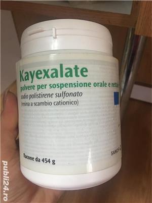 Kayexalate pulbere 150 ron - imagine 7