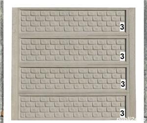 Vindem Plăci și Stâlpi gard beton diferite modele și montaj  - imagine 1