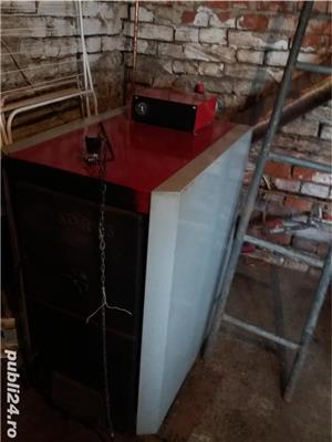Centrala termica pe lemn Viadrus 35 KW - imagine 1