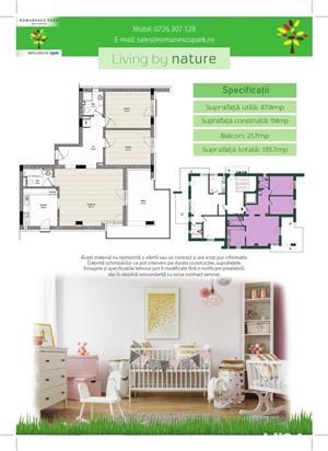 Apartament 3 camere - Romanescu Park Residence - imagine 3