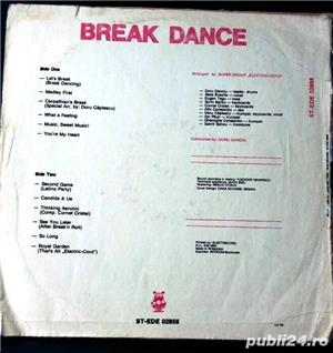 disc vinil electric-cord group break dance pret 8 lei