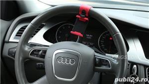 Suport Auto Volan Universal Reglabil Rosu cu Negru pt Telefon C36 - imagine 7
