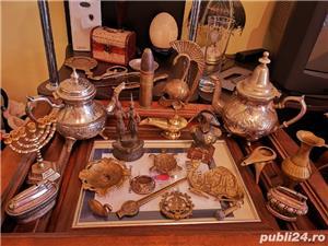 Vând statuete/brichete/scrumiere din bronz foarte vechi obiecte de colecție!  - imagine 6