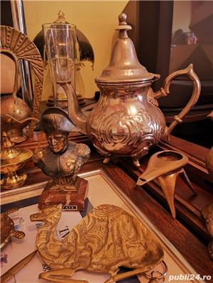 Vând statuete/brichete/scrumiere din bronz foarte vechi obiecte de colecție!  - imagine 8