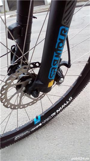 Vând bicicleta MTB B'WIN ROCKRIDER 520  - imagine 13