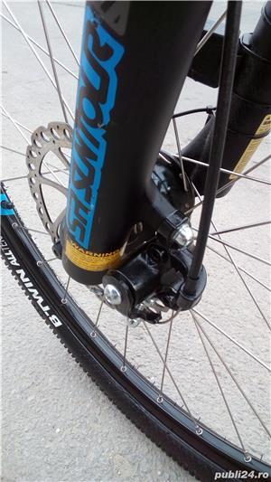 Vând bicicleta MTB B'WIN ROCKRIDER 520  - imagine 19