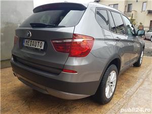 BMW X3 2.0d 184 CP xDrive Automat BiXenon FULL piele Navi LED - imagine 2