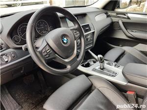 BMW X3 2.0d 184 CP xDrive Automat BiXenon FULL piele Navi LED - imagine 7