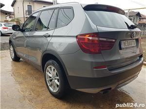 BMW X3 2.0d 184 CP xDrive Automat BiXenon FULL piele Navi LED - imagine 4