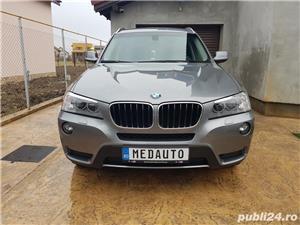 BMW X3 2.0d 184 CP xDrive Automat BiXenon FULL piele Navi LED - imagine 5