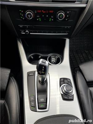 BMW X3 2.0d 184 CP xDrive Automat BiXenon FULL piele Navi LED - imagine 9