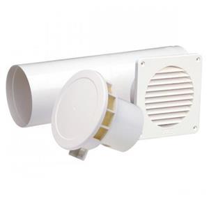 Sistem ventilatie naturala cu termostat , pt bucatarie - imagine 1