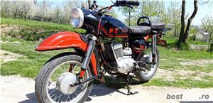 Pentru colecționari! Vând motocicletă MZ 250 - imagine 1