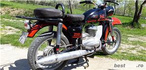 Pentru colecționari! Vând motocicletă MZ 250 - imagine 4