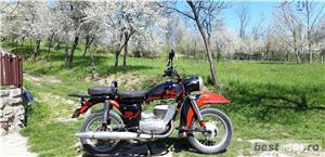 Pentru colecționari! Vând motocicletă MZ 250 - imagine 5
