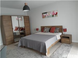 Proprietar, apartament 2 camere 85mp, 2 bai, lux, complet mobilat si utilat, bloc nou P+3 cu liftt - imagine 3