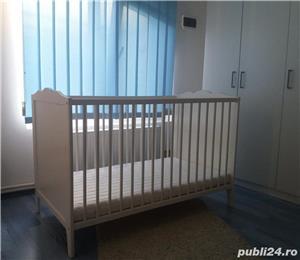 Patut bebe lemn IKEA - imagine 2