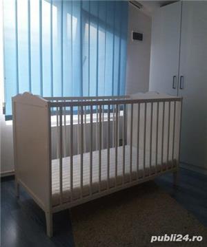 Patut bebe lemn IKEA - imagine 1