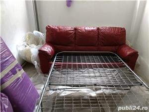 Canapea din piele - imagine 2