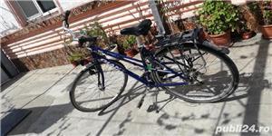 Bicicleta de aluminiu unisex la 530 lei - imagine 2