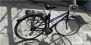 Bicicleta de aluminiu unisex la 530 lei - imagine 1