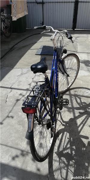 Bicicleta de aluminiu unisex la 530 lei - imagine 4