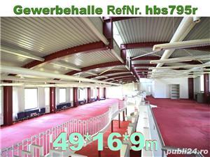 Vând hală metalică 795m2 demontabilă, cu etaj, second hand, demontare în germania - imagine 7