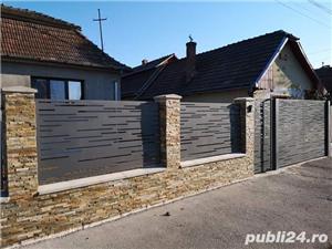 construim garduri,montam garduri din placi de beton - imagine 15