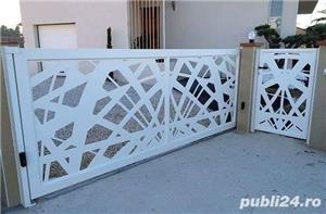 construim garduri,montam garduri din placi de beton - imagine 23