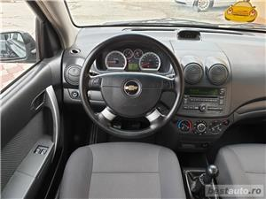 Chevrolet aveo,GARANTIE 3 LUNI,AVANS 0,RATE FIXE,motor 1200 cmc,90 Cp,Clima - imagine 8