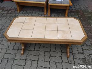 Masa gresie lemn masiv - imagine 2