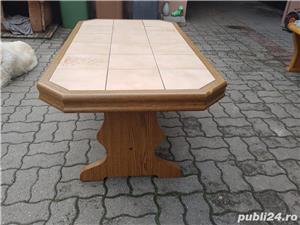 Masa gresie lemn masiv - imagine 3