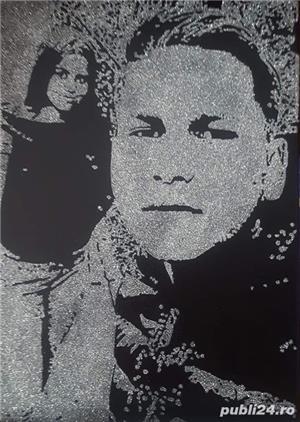 Portrete Glitter Sclipici - imagine 4
