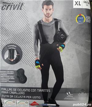 70 lei: Pantaloni-salopeta NOI, CRIVIT, marimea XL - imagine 1