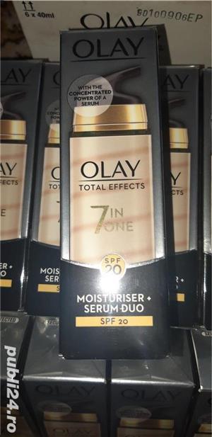 Crema Olay Total Effects Îngrijire anti-îmbătrânire și ser de duo SPF 20  - imagine 6