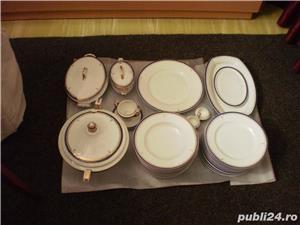 Serviciu portelan nemtesc de masa, 35 piese, cu suporturi oua - imagine 1