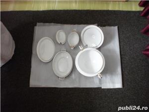 Serviciu portelan nemtesc de masa, 35 piese, cu suporturi oua - imagine 2