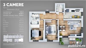 3 camere-Mutare Rapida- Grand Arena - imagine 1