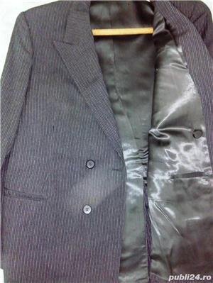 Vand costum nou-nout,elegant,lana pura=0727809907 - imagine 1