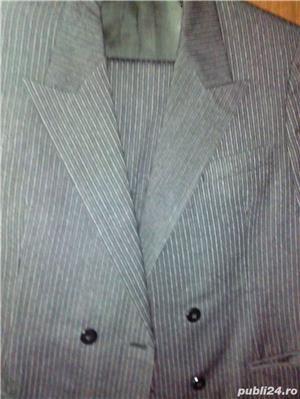 Vand costum nou-nout,elegant,lana pura=0727809907 - imagine 6