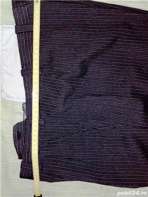 Vand costum nou-nout,elegant,lana pura=0727809907 - imagine 5