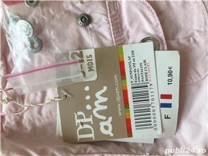 Nou, cu eticheta! Pantalon roz 9-12 luni, dpam, 10 euro - imagine 2