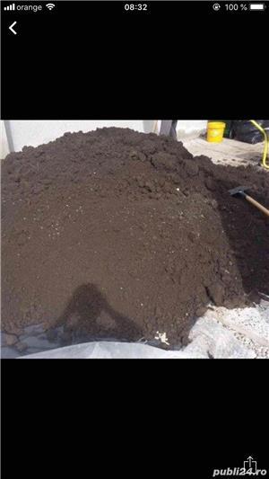 Pamant negru Demolari Balast Nisip Piatra - imagine 2