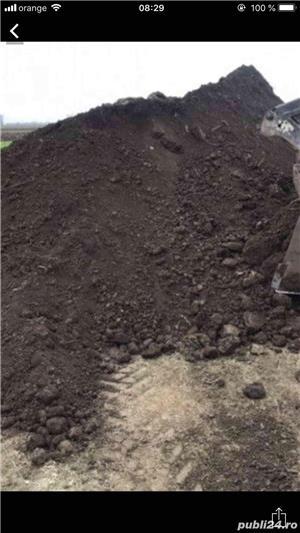 Pamant negru Demolari Balast Nisip Piatra - imagine 4