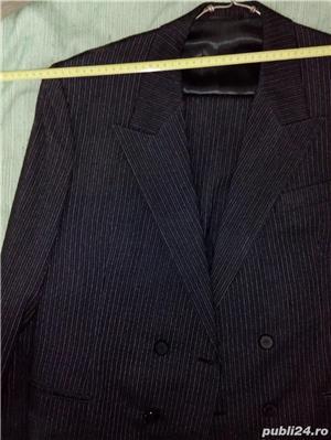 Vand costum nou-nout,elegant,lana pura=0727809907 - imagine 8