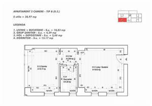 #Mamaia Nord - Apartament cu 2 camere la cel mai mic pret! - imagine 11