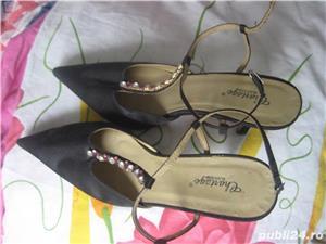 Pantofi decupati noi - imagine 2