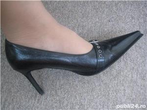 Pantofi italienesti din piele - imagine 5