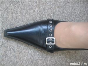 Pantofi italienesti din piele - imagine 2